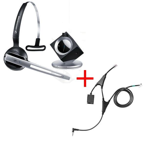 Pack für Alcatel: Sennheiser DW Office Phone + EHS-Kabel
