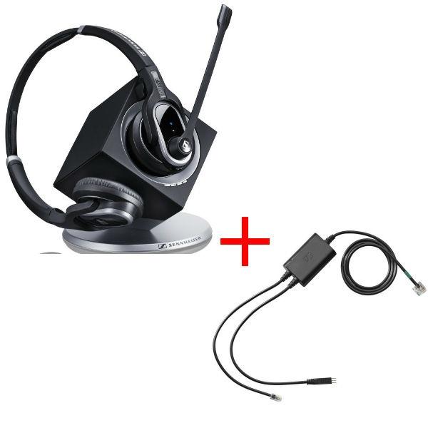 Pack für Polycom: Sennheiser DW Pro 2 + EHS-Kabel - eol