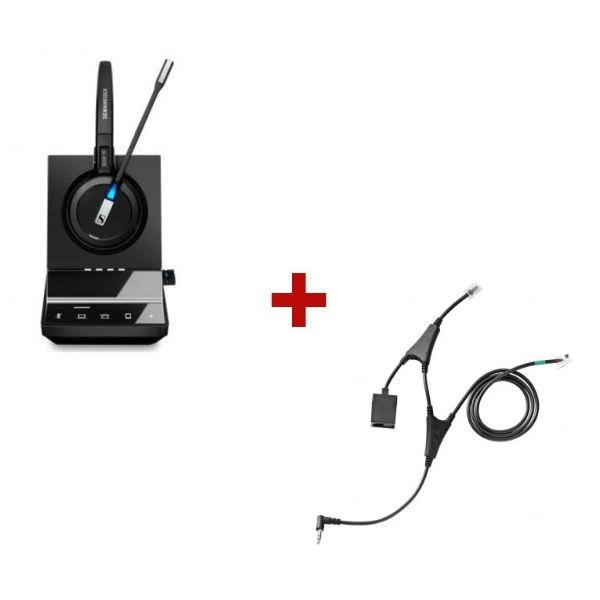 Pack für Alcatel: Sennheiser SDW 5016 + EHS-Kabel