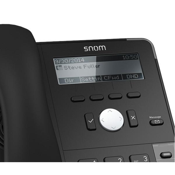 Snom D715 - schwarz