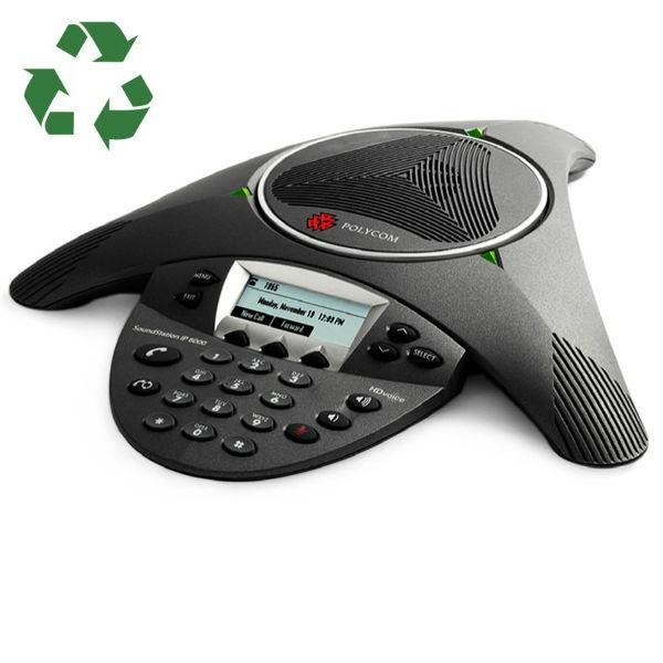 Polycom Soundstation IP 6000 PoE Conference Phone Generalüberholt