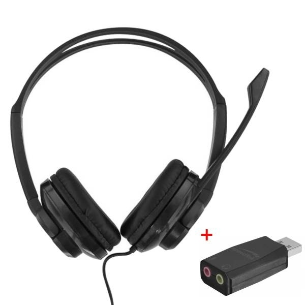Pack: T'nB HS-200 Headset + USB-Adapter