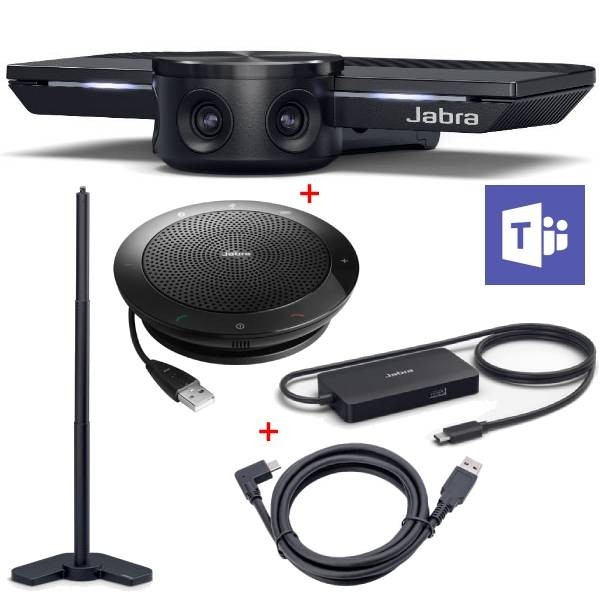 Jabra PanaCast und Jabra Speak 510M Set mit Stativ