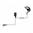 Ohrhaken-Headset für Kenwood Funkgeräte