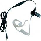 Durchsichtiger Ohrhörer PTT Motorola & Cobra