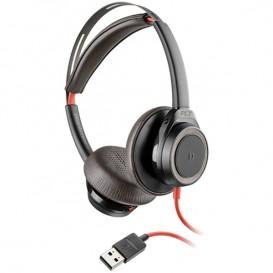 Plantronics Blackwire 7225 USB-A Schwarz