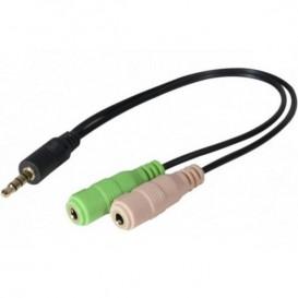 3,5-mm-Klinkenadapter für PC-Headset