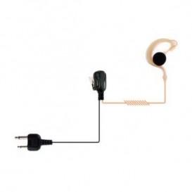 Vertex Ohrhaken Freisprechkit für Kenwood Funkgeräte
