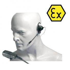 Ohrhörer-Stäbchenmikrofon für Entel HT-Funkgeräte
