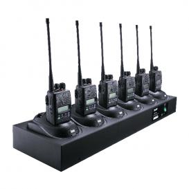 6-fach Ladegerät Entel CSBHX für die HX400 Serie