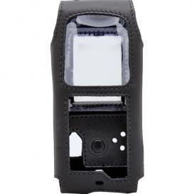 Schwarze Schutztasche aus Leder für das IS310.2