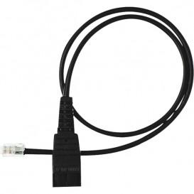 0,5m Jabra QD-Kabel zu RJ