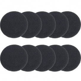 10 Schaumstoff Ohrpolster für Headsets (4cm)