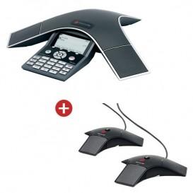 Pack: Polycom SoundStation IP 7000 + 2 Erweiterungsmikrofone