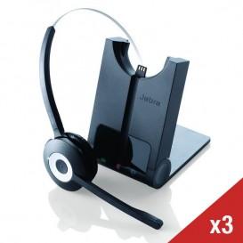 3er-Pack Jabra PRO 920 Mono