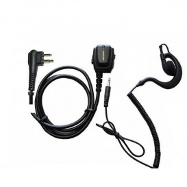 Ergonomischer Kopfhörer Motorola 2-polig + Kopfhöreranschluss