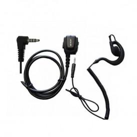 Jetfon Mikrofon und Ohrhaken für Dynascan D1 Funkgeräte