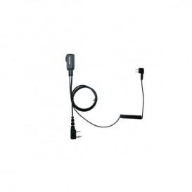 PTT-Kabel für Peltor SportTac PTT32 für Kenwood Funkgeräte