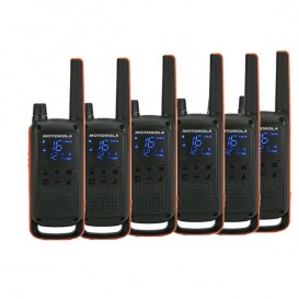 6er Set Motorola TLKR T82