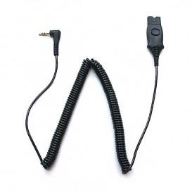 Verbindungskabel Plantronics QD-3.5mm für Alcatel