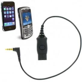 iPhone Verbindungskabel für OD Headsets