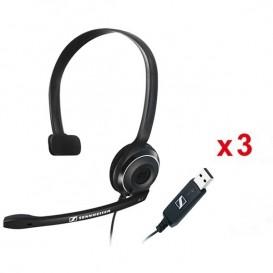 3er Pack: Sennheiser PC 7 USB