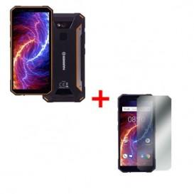 myPhone Hammer Energy 18X9 - Orange + Hartglas-Schutzfolie