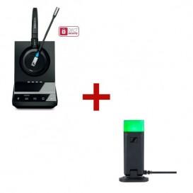 Sennheiser SDW 5015 mit Busylight UI 10 BL