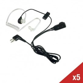 5er Set Bodyguard Kit für Motorola XTN, CLS & DTR Funkgeräte