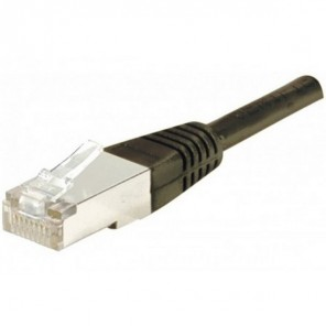 10m RJ45 Kabel CAT 6 FTP - Schwarz
