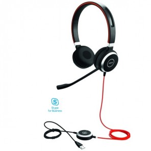 Jabra Evolve 40 MS Stereo (USB + 3,5mm Klinke)