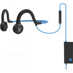 Aftershokz Sportz Titanium mit Mikrofon - Blau
