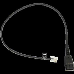 GN Anschlusskabel QD auf RJ10 für LINK 180 und Avaya 9600 / 1600
