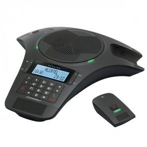 Alcatel Audio-Telefonkonferenzsystem mit 2 Mikrofonen