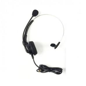 Mono-Headset mit Mikrofon für den TRX-1 Transceiver
