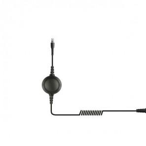QD Kabel mit PTT-Funktion für Kenwood Funkgeräte (2 polig)