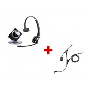 Pack für Alcatel: Sennheiser DW Pro 1 Phone + EHS-Kabel