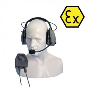 ATEX Kopfhörer Headset CHP-950-D
