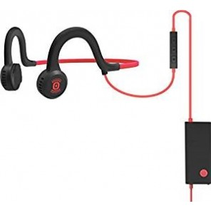 Aftershokz Sportz Titanium mit Mikrofon - Rot