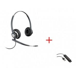 EncorePro HW720 Digital + Plantronics DA90 USB Audioprozessor