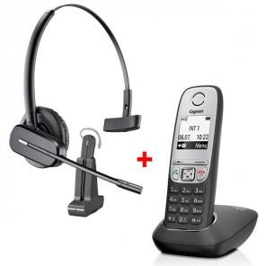 Gigaset A415 + Headset Plantronics C565
