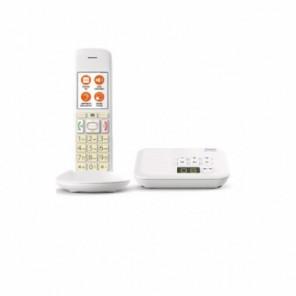 Gigaset E370A Weiß mit Anrufbeantworter