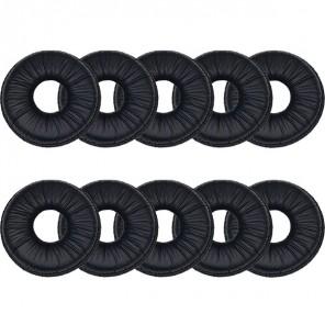 10 Kunstleder Ohrpolster für Headsets (5cm)