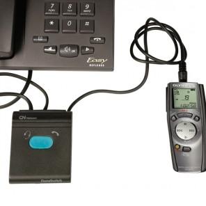 Jabra Danaswitch für Diktiergeräte und zweiten Hörer