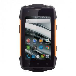 MyPhone Hammer IRON 2 Orange und Schwarz