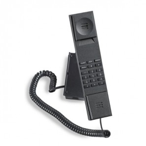 Jacob Jensen T-1 Telefon in Schwarz