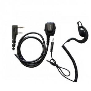 Jetfon Ohrhaken-Kopfhörer für Kenwood Funkgeräte