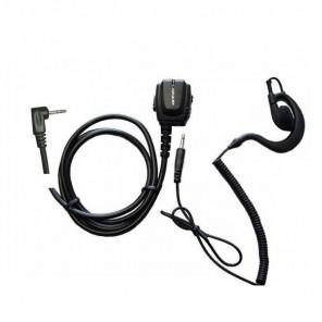 Motorola Ergonomische Mikrofon-Ohrhörer mit 1 Pin