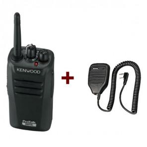 Kenwood TK-3401D + Kenwood Mikrofon-Lautsprecher