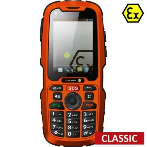Mobiltelefon i.safe IS320.1 Atex ohne Kamera - Classic